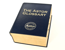 The Astor Glossary