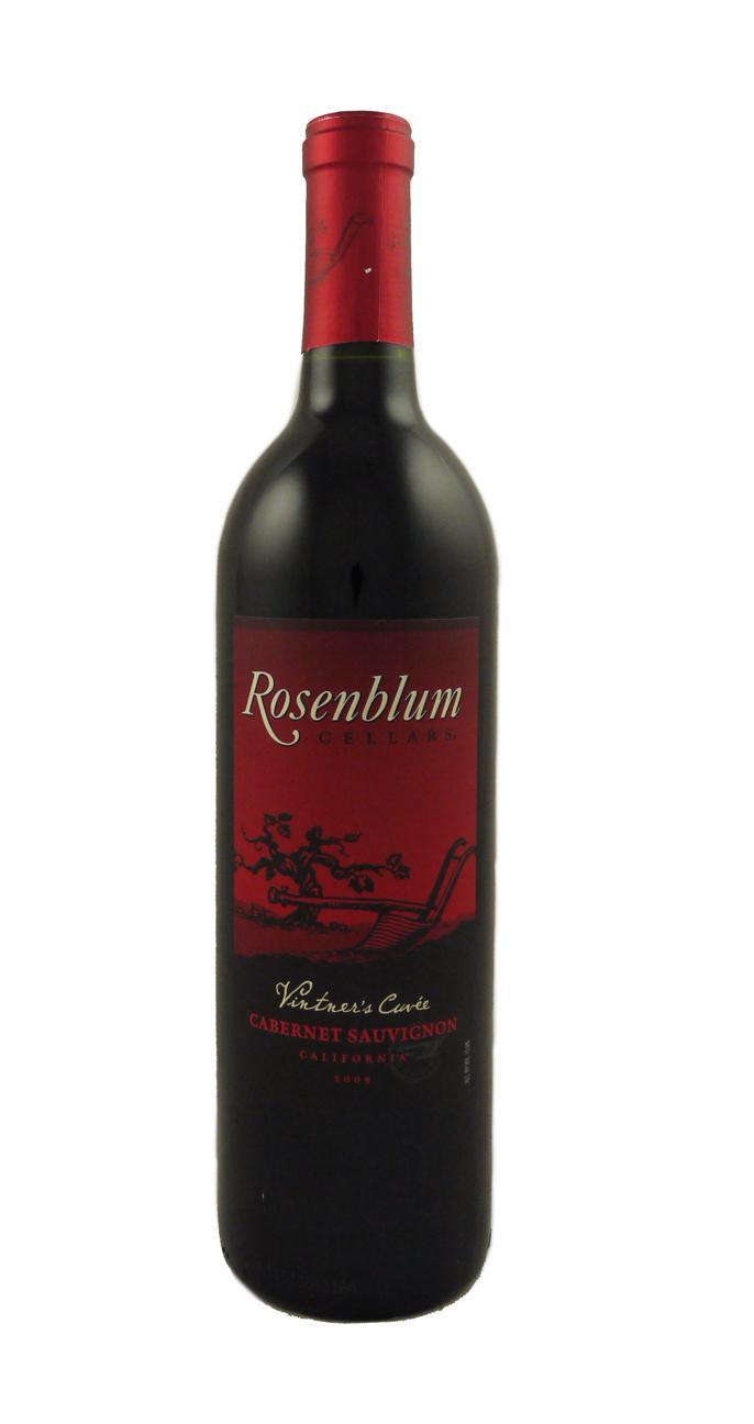 Rosenblum Vintner S Cuv 233 E Cabernet Sauvignon Astorwines Com