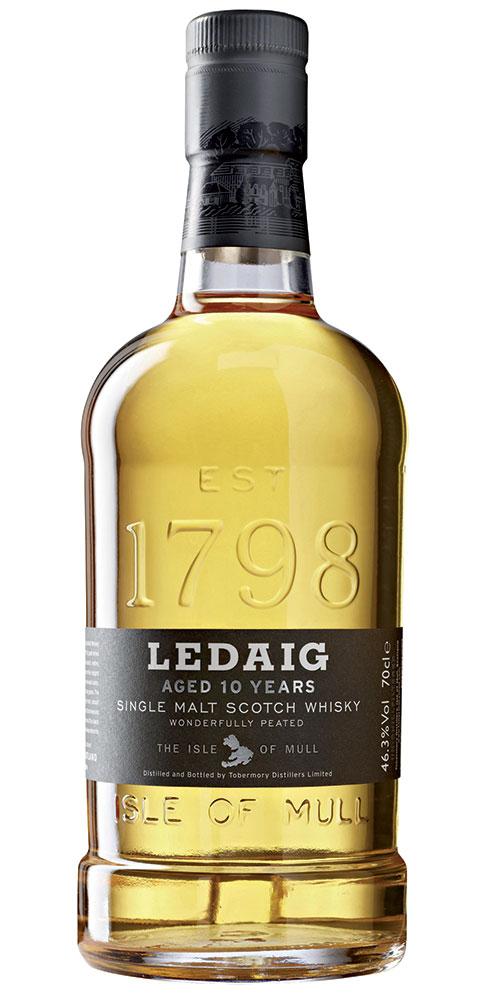 Ledaig 10 Year Old Single Malt Scotch Whisky - Caskers