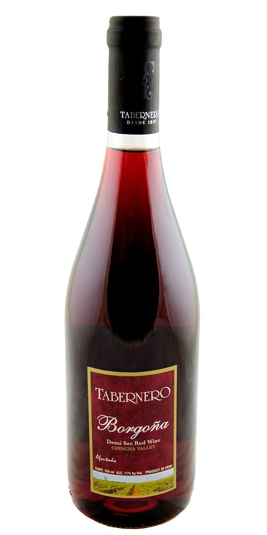 tabernero borgo a demi sec red chincha valley astor