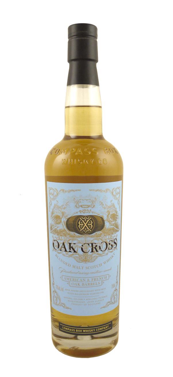 Compass Box Oak Cross Scotch Astor Wines Spirits