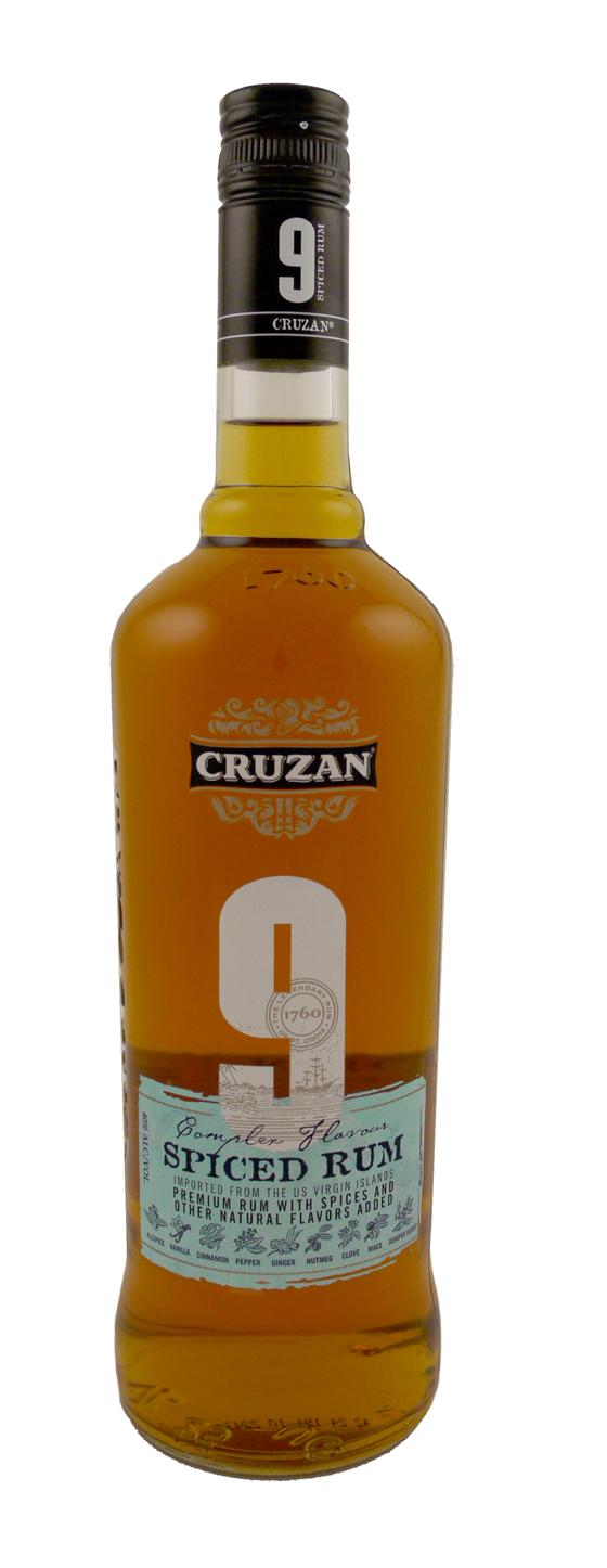 Cruzan 9 spiced rum astor wines spirits for Mix spiced rum with