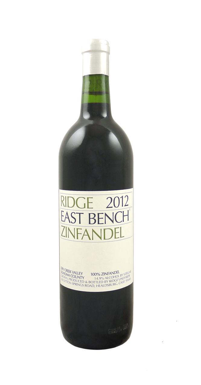 Ridge Vineyards Quot East Bench Quot Zinfandel Astor Wines Amp Spirits