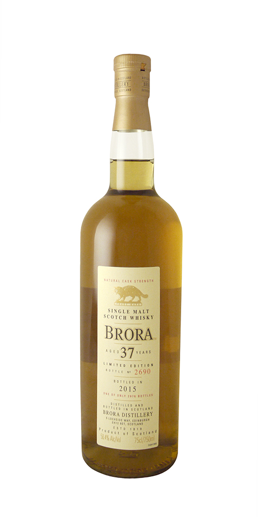 Brora 37yr. Cask Strength Scotch Whisky