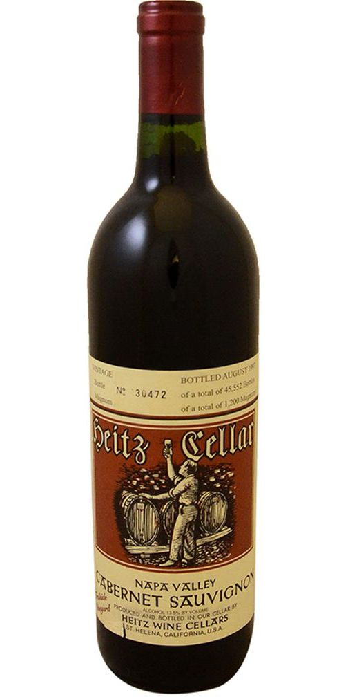 Heitz Cellar  Trailside Vineyard  Cabernet Sauvignon - 1993  sc 1 st  Astor Wines u0026 Spirits : heitz cellar  - Aeropaca.Org