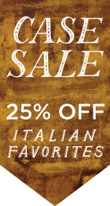 Italian Wine Case Sale