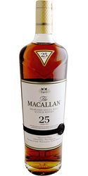 Macallan 25 Yr. Sherry Oak Scotch