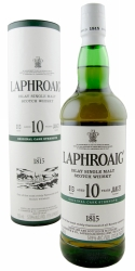 Laphroaig 10 yr. Cask Strength Scotch