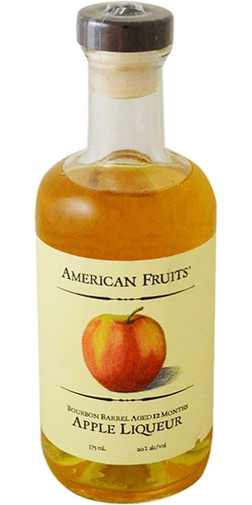 American Fruits Bourbon Barrel Aged Apple Liqueur