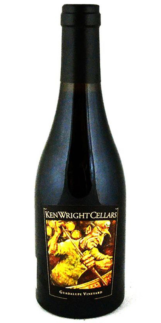Ken Wright Cellars Pinot Noir, Guadalupe Vineyard
