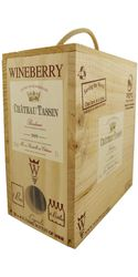 Ch. Tassin, Bordeaux Rouge, Wineberry Bag in Box