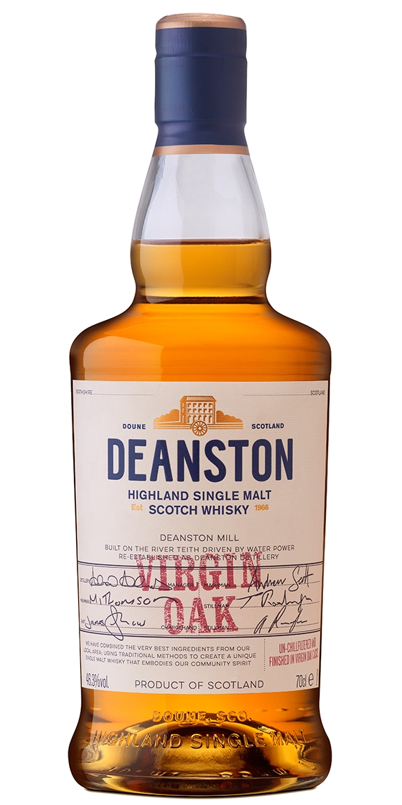 Deanston Virgin Oak Scotch
