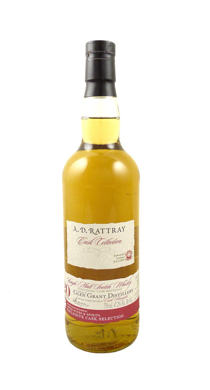 A.D. Rattray Glen Grant 20 Yr. Scotch