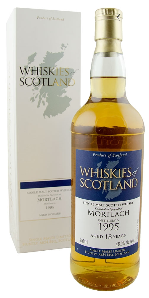 Whiskies of Scotland Mortlach Single Malt