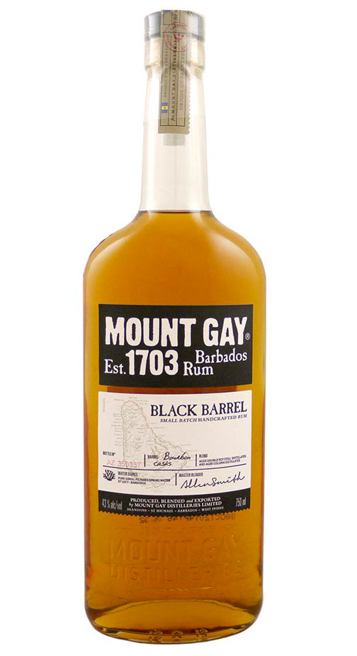 Mount Gay Black Barrel Astor Blended Rum