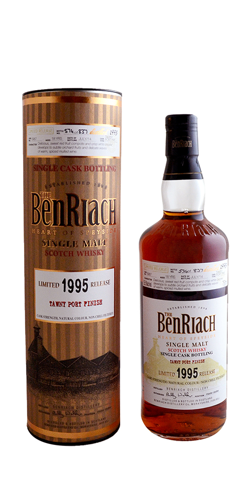 The BenRiach 18yr Single Cask Scotch Whisky
