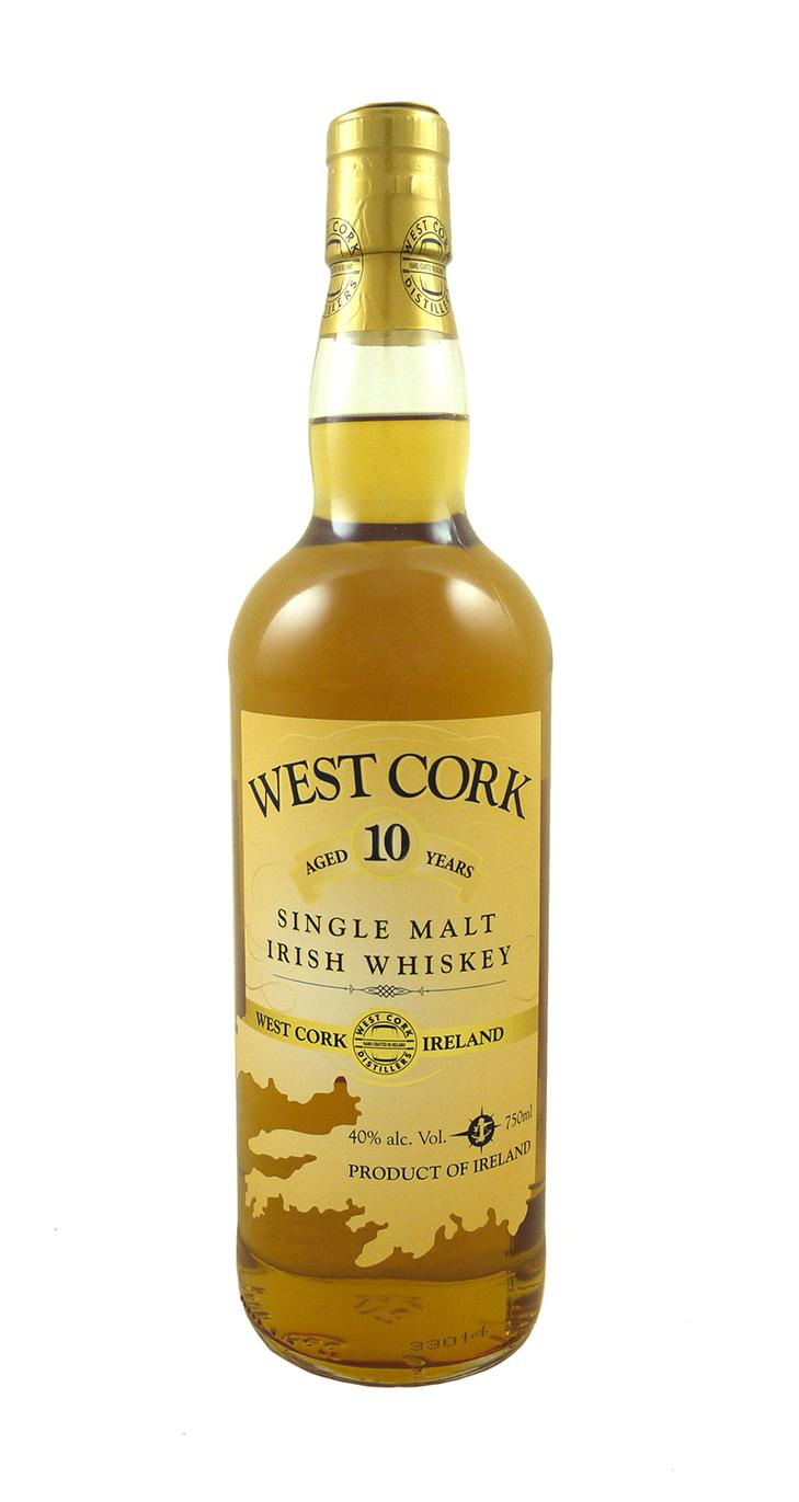 West Cork 10yr Irish Single Malt Whiskey