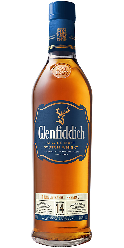 Glenfiddich 14yr Bourbon Barrel Reserve