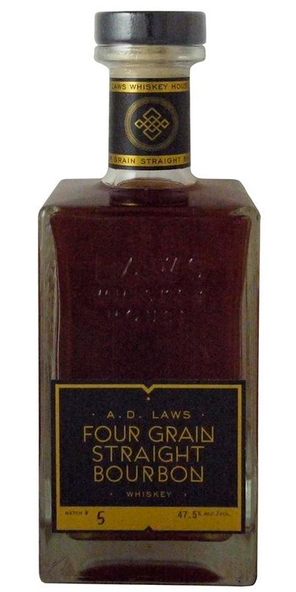 A.D. Laws Four Grain Straight Bourbon