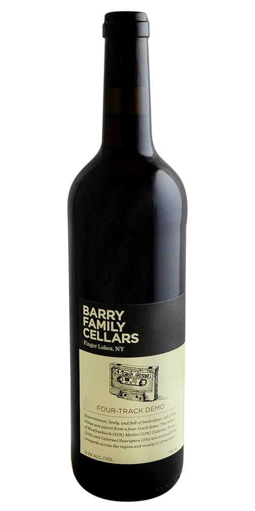"""Four Track Demo"" Red Blend, Barry Family Cellars"