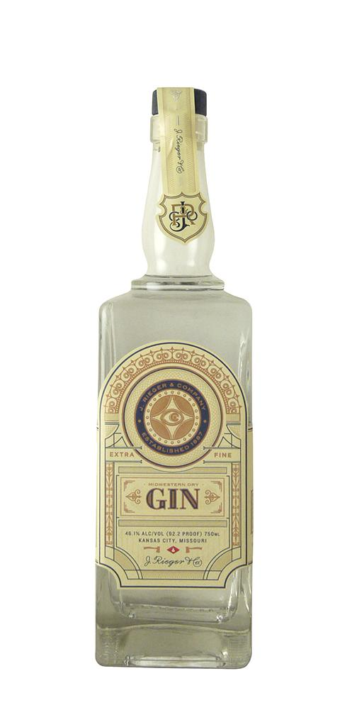 J. Rieger Midwestern Dry Gin