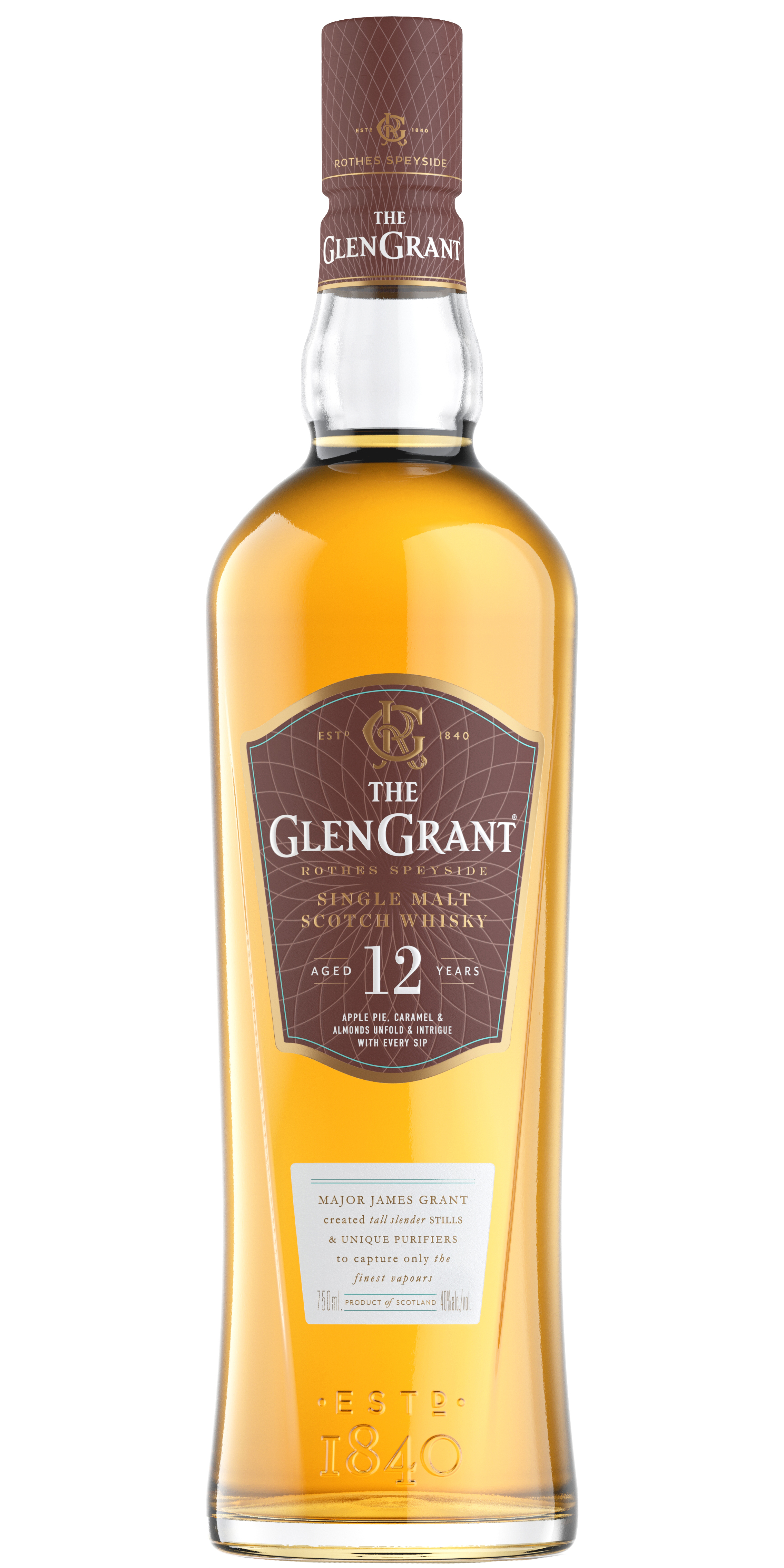 Glen Grant 12yr Single Malt Scotch