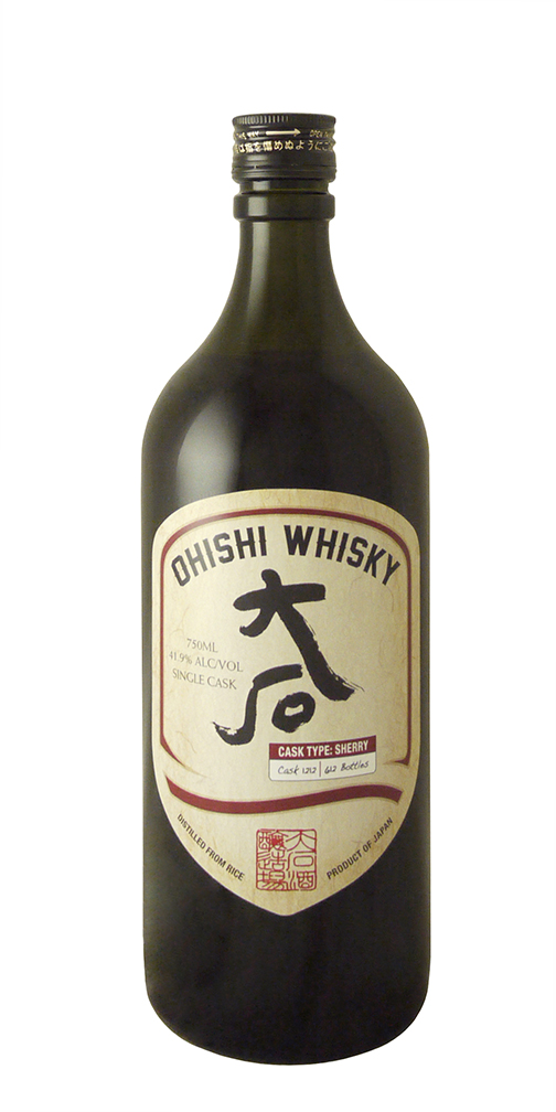 Ohishi Sherry Cask Japanese Whisky