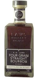 A.D. Laws Four Grain Bottled in Bond Bourbon