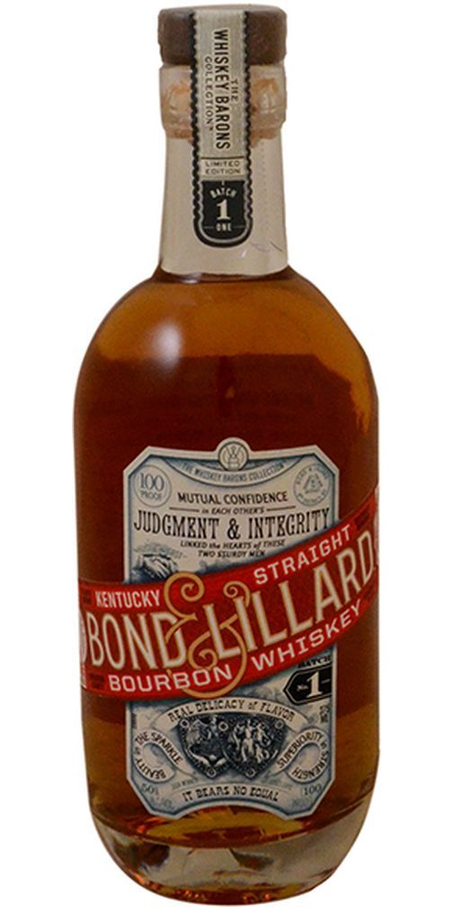 Bond & Lillard Straight Bourbon Whiskey