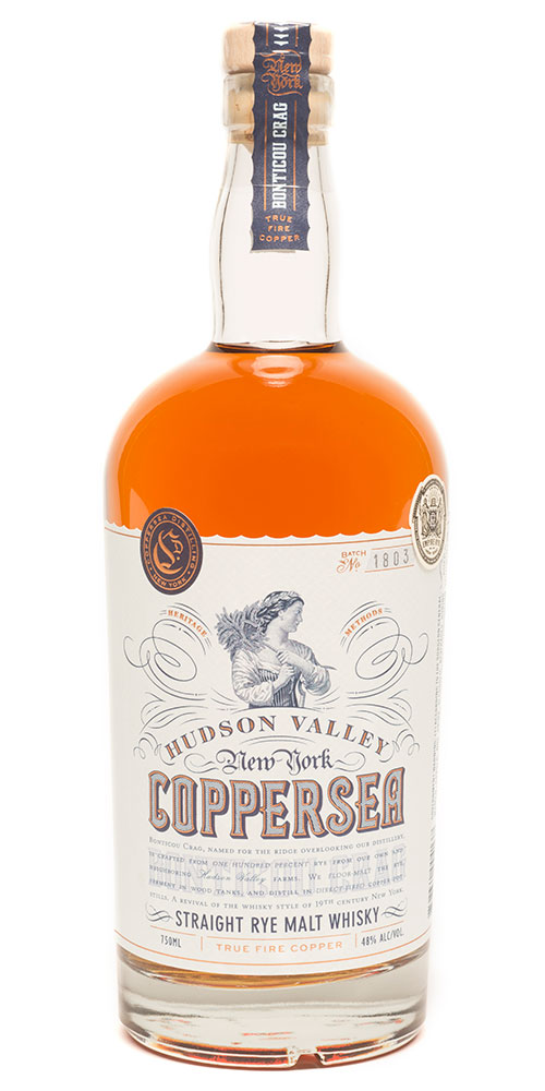 Coppersea Straight Rye Malt Whisky
