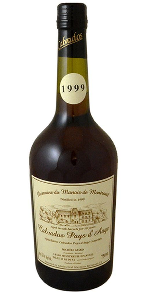 Dom. Montreuil 18yr Pays d'Auge Calvados