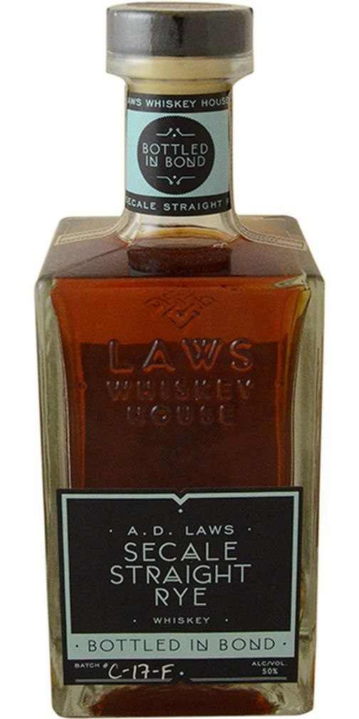 A.D. Laws Secale Bottled in Bond Rye
