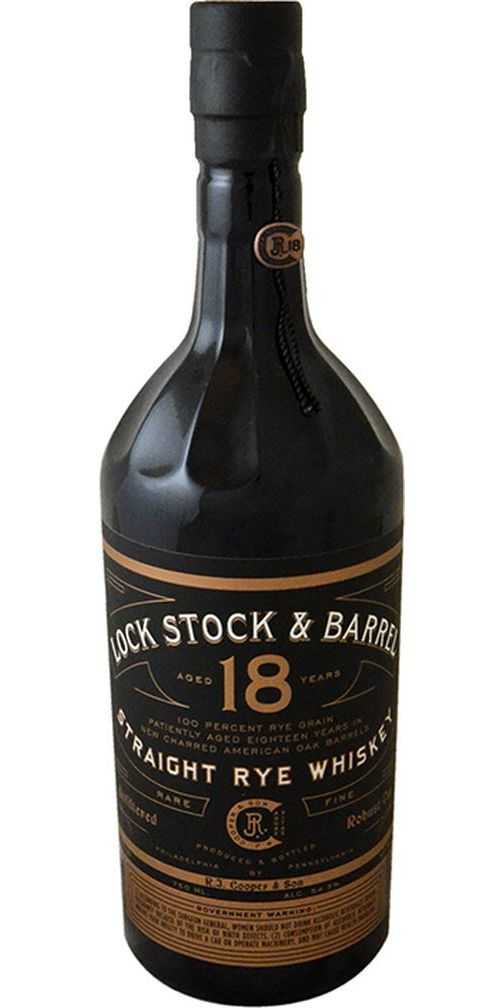 Lock Stock & Barrel 18yr Rye Whiskey