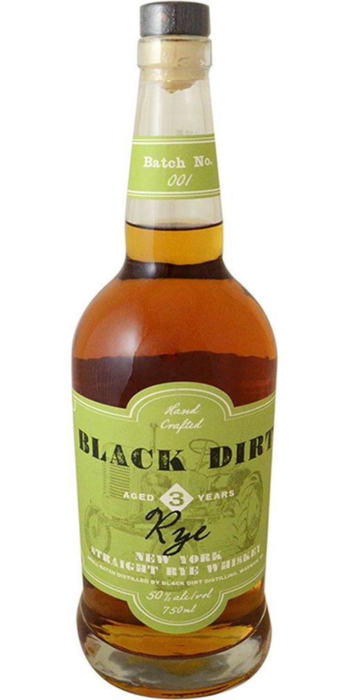 Black Dirt Straight Rye Whiskey