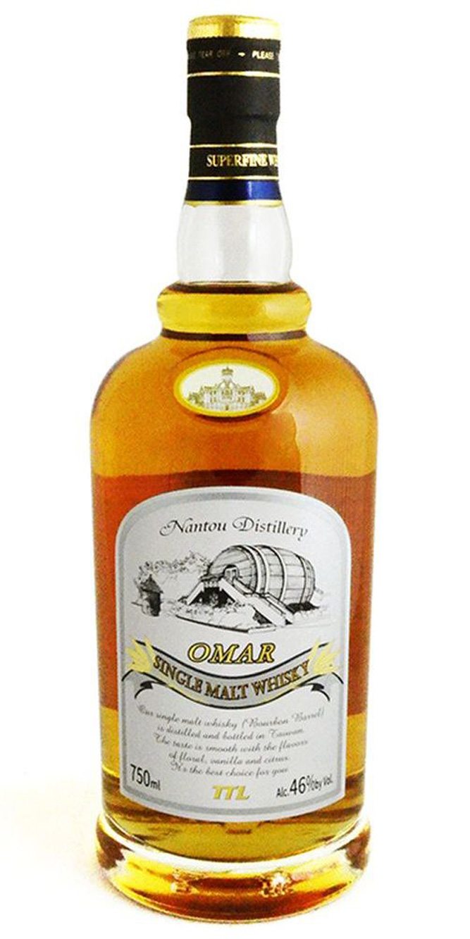 Nantou Distillery Omar Bourbon Barrel Single Malt