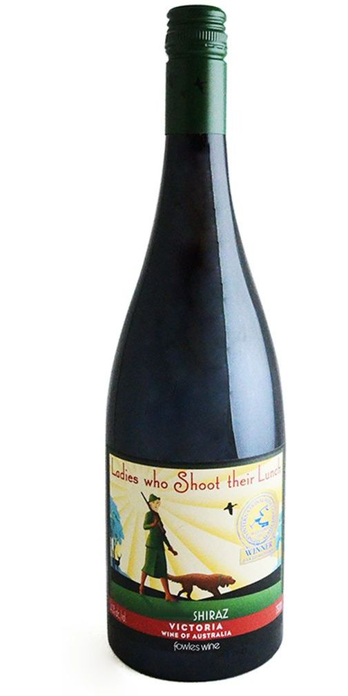 "Fowles Wines ""Ladies Who Shoot Their Lunch"" Shiraz"