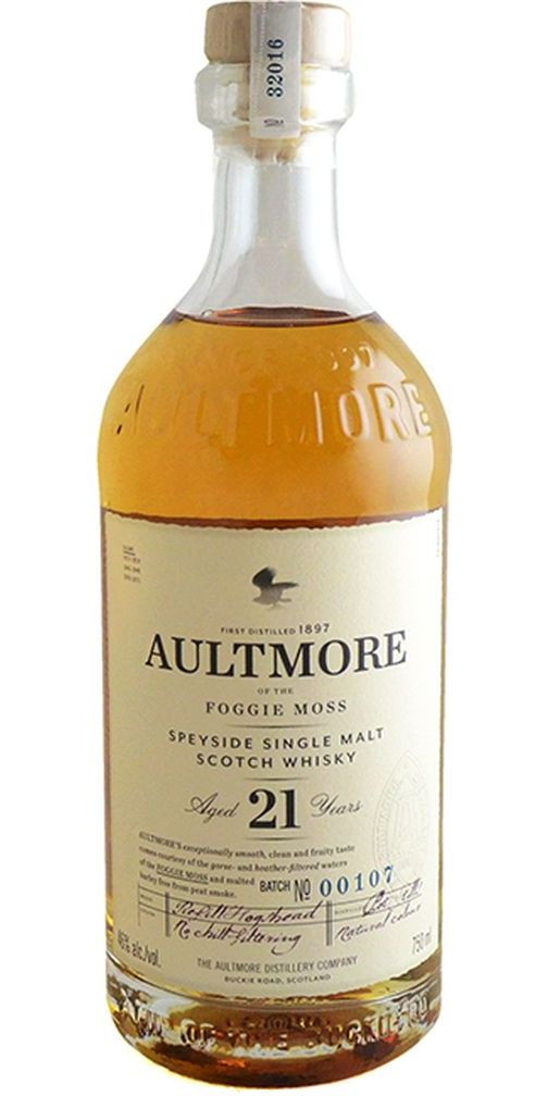Aultmore 21yr Single Malt Scotch Whisky