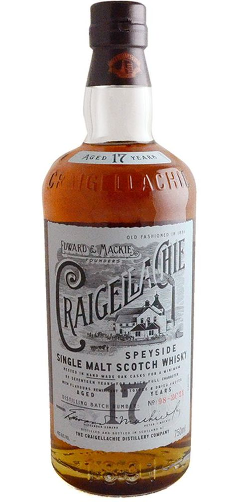 Craigellachie 17yr Single Malt Scotch Whisky