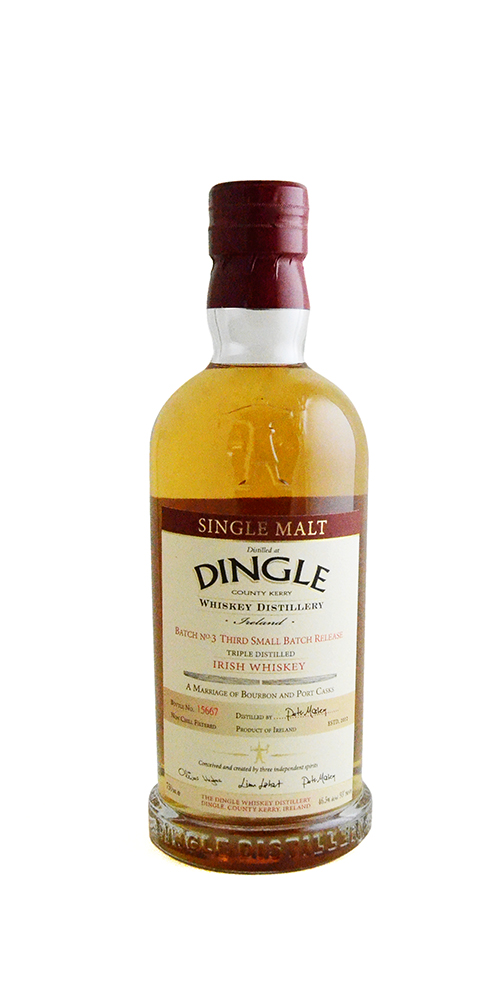 Dingle Single Malt Irish Whiskey Batch #3