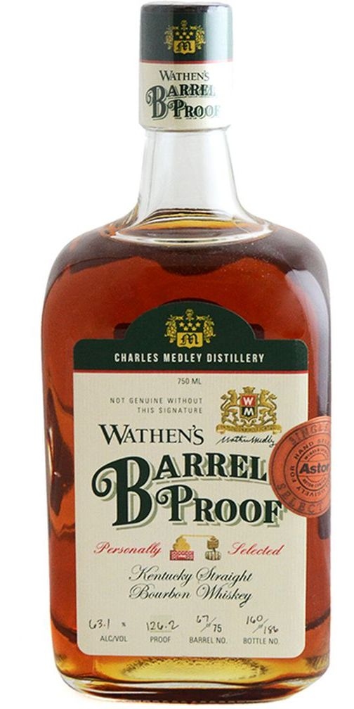 Wathen's Barrel Proof Astor Single Barrel Bourbon