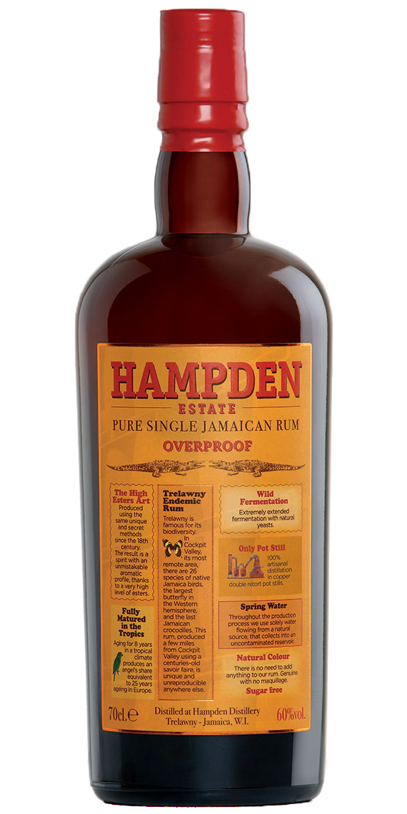 Hampden Overproof Single Jamaican Rum