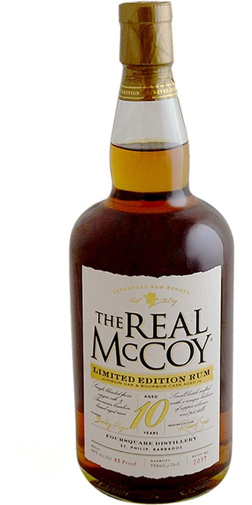 The Real McCoy 10yr Limited Edition Rum