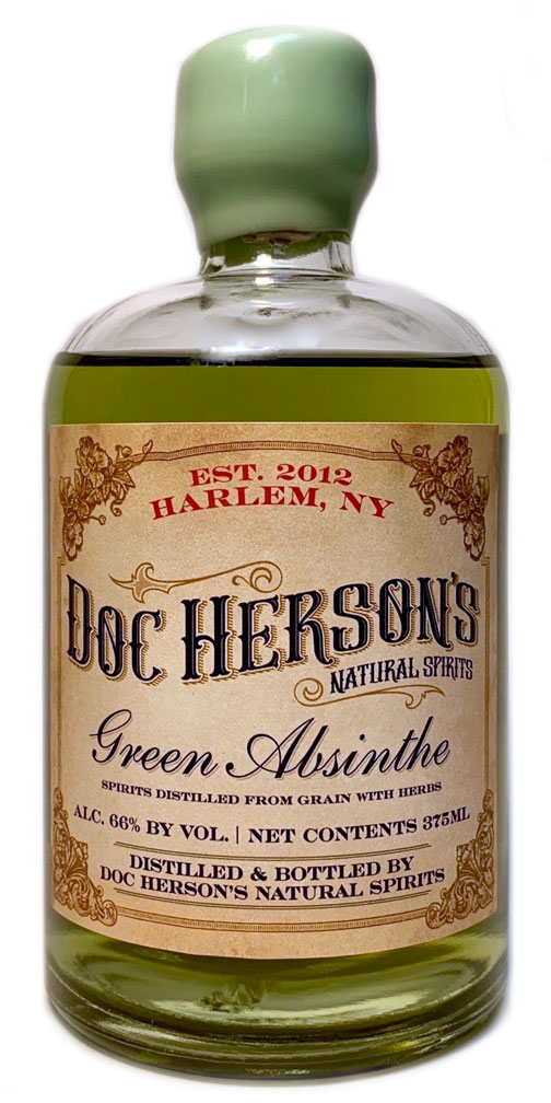 Doc Herson's Natural Green Absinthe