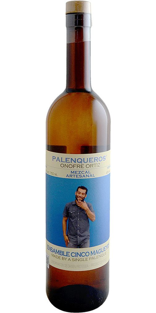 Palenqueros Onofre Ortiz 5 Agave Mezcal