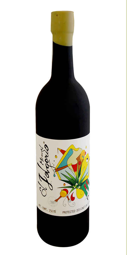 El Jolgorio Pechuga 12th Edition Black Bottle Mezcal
