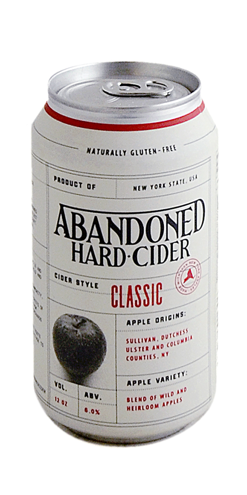 Abandoned Hard Cider Can