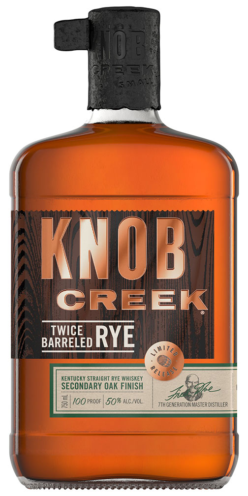 Knob Creek Rye Double Barrel 100 Proof