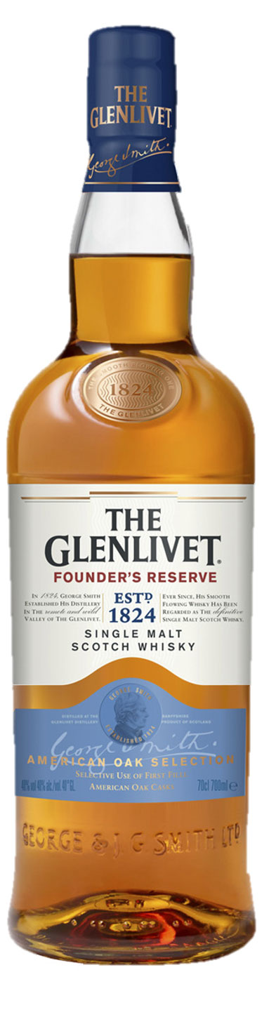 Glenlivet Scotch SM Founder's Reserve