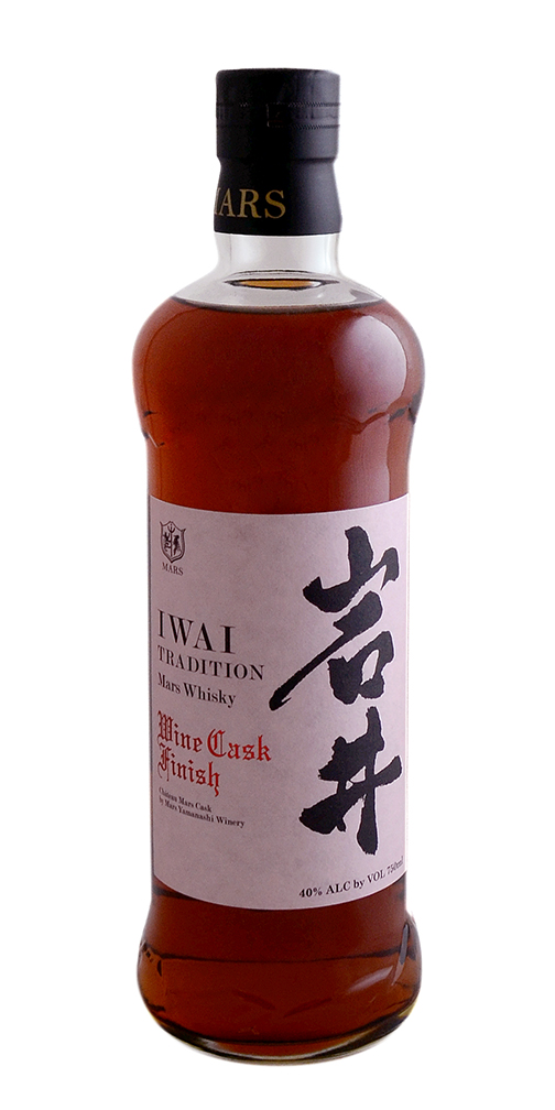 Shinshu Mars Iwai Tradition Wine Cask Finish Japanese Whisky