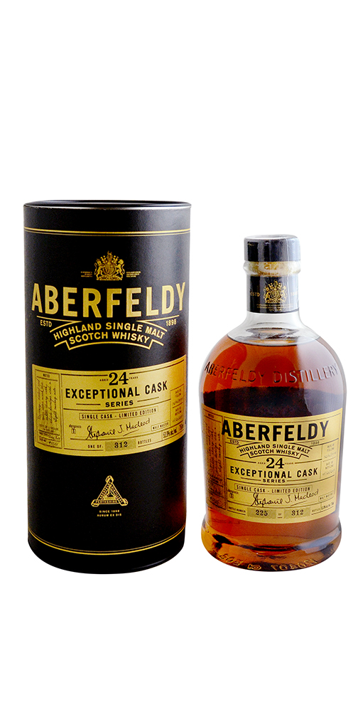 Aberfeldy 24 YR Single Malt Scotch 107.8 Proof
